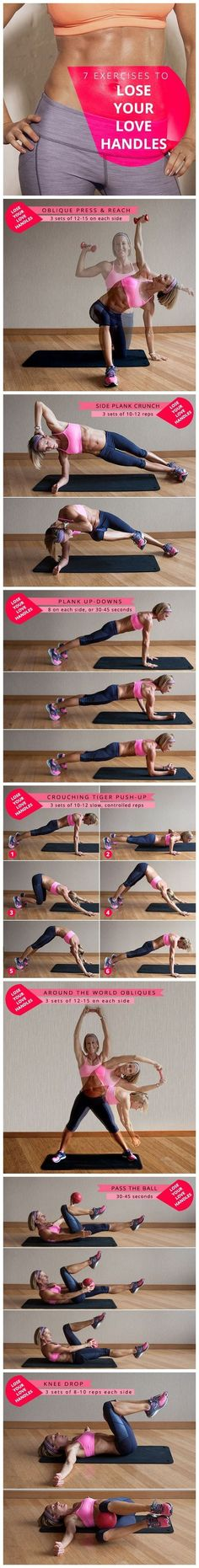#HowTo Lose Love Handles
