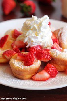 Mini Puffed Oven Pancakes | The Recipe Critic