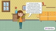Scout Law: Friendly Courteous Kind