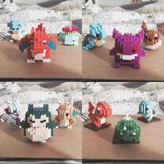 Happiness is finding the all the Poke nanoblocks that you wanted that finally completing all of them #pokemon #pokemonlover #pocketmonsters #pokemoncollection #nanoblock #figurines #charmander #bulbasaur #squirtle #venusaur #charizard #blastoise #mewtwo http://amzn.to/2luw5mX
