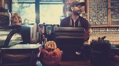 Skull and Jack O'Lantern #nyc #vsco #fall