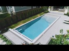 Check out this video of our Grace Beach Entry design. The Grace and its sister Sandal are the only true beach entry designs available in fiberglass. Both designs are available exclusively from Thursday Pools.