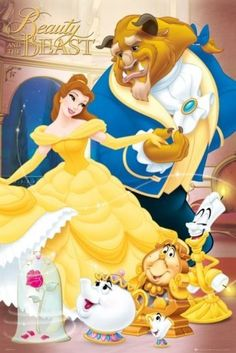 "The Beauty And The Beast - Disney Movie Poster (Size: 24"" x 36"") by Posterstoponline, http://www.amazon.com/dp/B0079NBAYQ/ref=cm_sw_r_pi_dp_wgqFqb1K2DYB6"