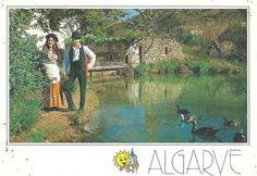 1980's Postcard.    Algarve, Portugal.