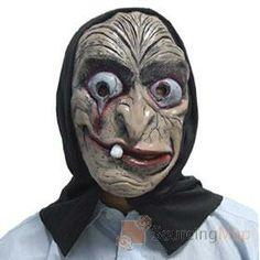 mascara de monstro horrendo