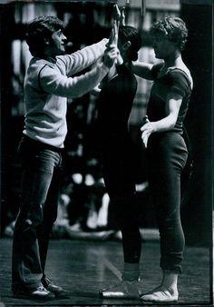 Mikhail Baryshnikov and Robert La Fosse.