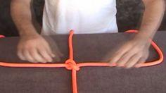 Esse nó é um dos mais básicos, mas a maioria das pessoas erra na hora de fazer, e acaba fazendo um nó