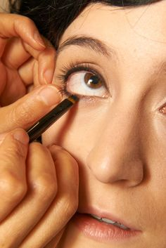 Pin for Later: Big, Beautiful Eyes Can Be Yours With This Betty Boop DIY Step 8: Eyeliner Part Three