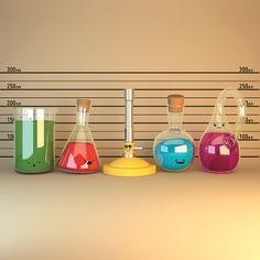 'Usual Suspects Lineup - Cute Chemistry' by chayground Teaching Science, Teaching Tips, Science Humor, Funny Science, Pink Unicorn Wallpaper, Science Clipart, Chemistry Art, Chemical Science, Nerd Love