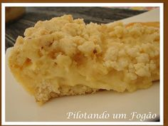 Fatia-de-Cuca Other Recipes, Sweet Recipes, Cake Recipes, Cheesecakes, Pastel Cakes, Good Food, Yummy Food, Portuguese Recipes, Cupcakes