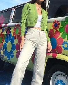The Effective Pictures We Offer You About vintage outfits A quality picture can tell you many th Indie Outfits, Hipster Outfits, Cute Casual Outfits, Retro Outfits, Vintage Outfits, Summer Outfits, Aesthetic Fashion, Aesthetic Clothes, Look Fashion