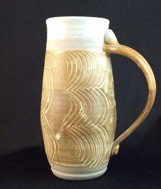 Large stoneware mug by DWPottery on Etsy