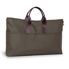 Canvas Brief Tote Green now featured on Fab.
