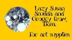 Ikea Snudda and Groggy for art supplies (SHORT)
