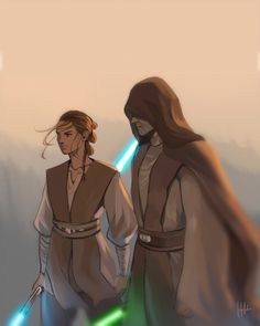 Glad to see I'm not the only one that thinks Rey will get a double-sided lightsaber! #rey #lukeskywalker #starwars
