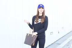 """How to Wear the Athleisure Trend  Not in the mood to wear """"real clothes"""" today?! I'm sharing 3 tips for styling the athleisure trend! Read them here:   http://mystyledlife.com/how-to-wear-the-athleisure-trend/     athleisure trend, sporty chic outfit idea, athleisure outfit ideas, how to style the athleisure trend, athleisure brands, how to wear workout clothes, athleisure style, athleisure fashion, My Styled Life, Kendall of My Styled Life"""
