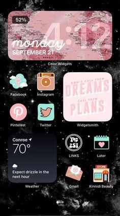 Walpapers Iphone, Iphone Life Hacks, Iphone Wallpaper Ios, Ios Wallpapers, Iphone Wallpaper Tumblr Aesthetic, Iphone Icon, Iphone App Design, Iphone App Layout, Iphone Widgets