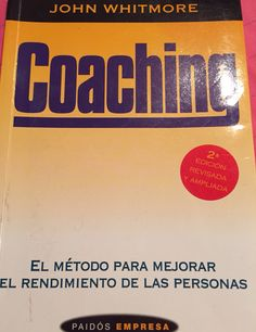 Coaching #jhonwhitmore