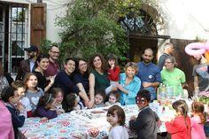 10 Aprile: la festa nella sede di strada Quarta 23 per il 7° compleanno del Laboratorio Famiglia al Portico.