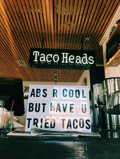 What's wrong with tacos anyway? You can use a low carb shell, ground turkey...sounds like a healthy delight to me! :)