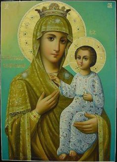 Blachernitissa, aka Theotokos of Blachernae, aka Our Lady of Blachernae. The Theotokos was considered to be the intercessory protectress par excellence of Constantinople and, indeed, of the entire Eastern Roman Empire