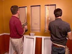 Learn how to install recessed shelving with these easy-to-follow steps from DIYNetwork.com.