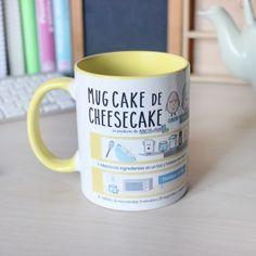 Taza Mug Cake de TARTA DE QUESO  - Monster & Pixer |  La encontrarás en nuestra tienda online: www.monsterandpixer.com