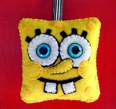 SpongeBob Square plushie ornament