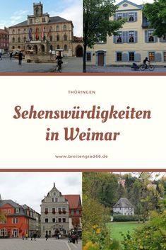 Eine Städtereise nach Weimar lohnt sich. Die Stadt in Thüringen bietet zahlreiche Sehenswürdigkeiten.