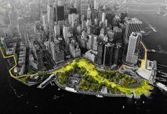 人人网 - 浏览相册 - BIG U——曼哈顿岛U型保护系统方案