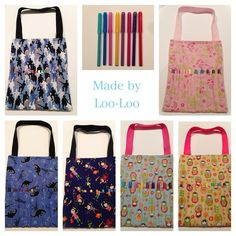 Texta Bags - by Loo-Loodesigns on madeit