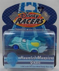 New in Collectibles, Disneyana, Contemporary (1968-Now) You are bidding on a Disney Theme Park Racers Haunted Mansion Ghost 1/64 Scale Die Cast Car New  Comes brand and never opened