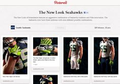 How the @Seattle Seahawks used social media to show off new Nike uniforms