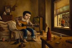"""The Man Who Laughs"" — Bob Dob"