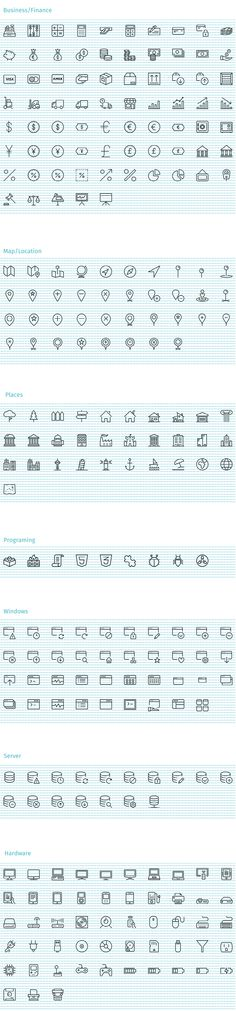 Streamline Icons - 1600+ iOS Style Vector Icons for designers & Developers
