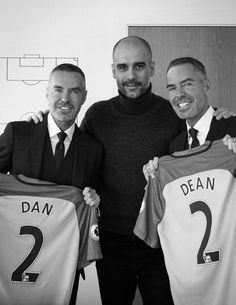 and Manchester City embark on a new partnership with the design of an all-new official club suit and much more. Welcome To The Team, Pep Guardiola, Online Clothing Stores, Manchester City, Dsquared2, Dan, Soccer, Handsome, Suits