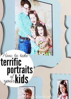 How to Take Great Portraits of Your Kids
