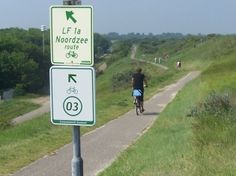 The Dutch cycle junction network makes for great, easy cycling. You can find these cycle junctions all over the Netherlands. Bicycle touring the Netherlands.(http://www.nederlandfietsland.nl/fietsrouteplanner)