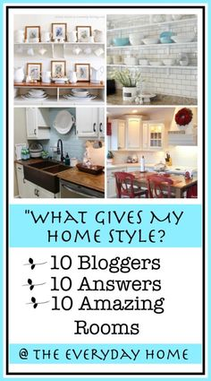 10-Ways to Add Style to Your Home-from The Everyday Home