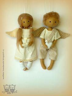 hand made by matteka: mini angels