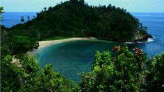 Pantai pasir enam - jayapura - papua