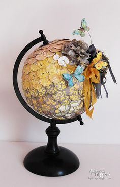 Love Jennifer Priest's take on a globe!