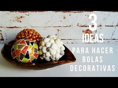 Esferas tipo mosaico de colores , Spheres mosaic of colors - YouTube