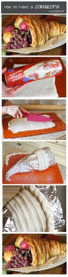 How To Make A Cornucopia. Should I dare attempt this for Thanksgiving?