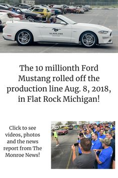 The Flat Rock Assembly Plant was part of the Ford Motor Co. s celebrations  of a milestone point for the best-selling sports car. 3505efded84f