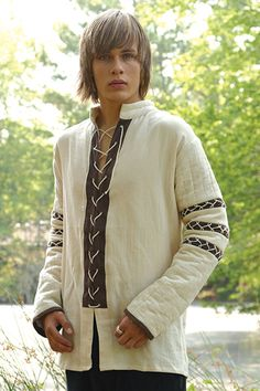 Padded Tristan Shirt - Medieval Renaissance Clothing, Costumes