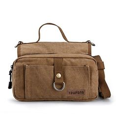 Toupons Dog Backpack for Medium & Large Dog Canvas (Brown) - http://www.thepuppy.org/toupons-dog-backpack-for-medium-large-dog-canvas-brown/