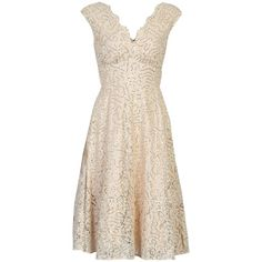 Jolie Moi Sequin Fit And Flare Dress, Beige (£95) ❤ liked on Polyvore featuring dresses, sequin cocktail dresses, pink skater skirt, lace maxi dress, maxi dress and pink maxi dress