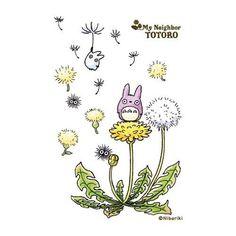 totoro dandelions