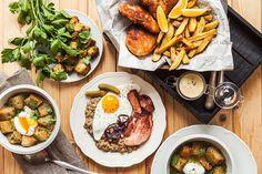 Inspirujte se u kolegů násosků v zahraničí: česnek, smažené a majonéza ale nechybí snad u žádného z národních vyprošťováků!